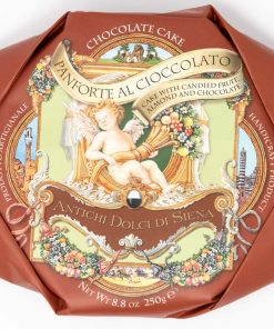 Panforte al cioccolato IGP 250 grammi Antichi Dolci di Siena