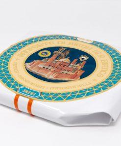 Panforte di Siena Bianco IGP 250 grammi Antica Drogheria Manganelli lato