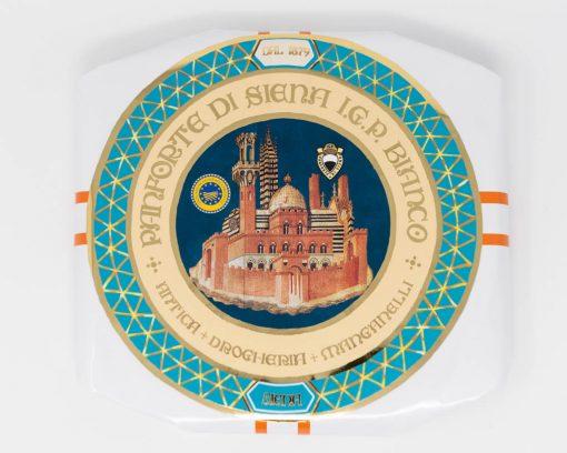 Panforte di Siena Bianco IGP 450 grammi Antica Drogheria Manganelli