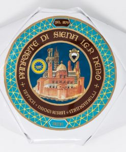 Panforte di Siena Nero IGP 250 grammi Antica Drogheria Manganelli