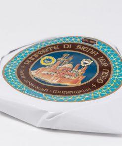Panforte di Siena Nero IGP 450 grammi Antica Drogheria Manganelli lato