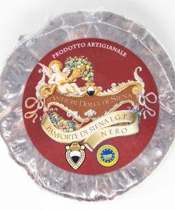 Panforte di Siena Nero IGP 500 grammi Antichi Dolci di Siena