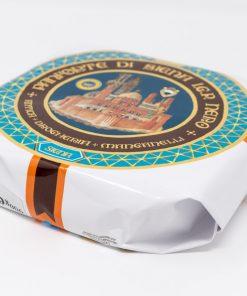 Panforte di Siena Nero IGP 900 grammi Antica Drogheria Manganelli lato