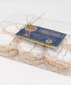 Ricciarelli di Siena IGP 500 grammi Antica Drogheria Manganelli lato