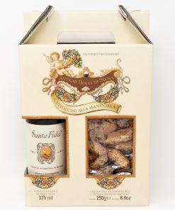 Cantuccini alla mandorla e vino da dessert Antichi Dolci di Siena