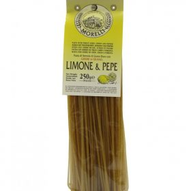 morelli linguine limone e pepe 250 gr