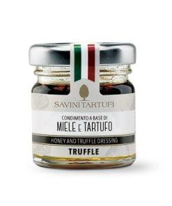 condimento a base di miele italiano e tartufo