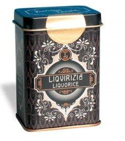 lattina retrochic con pastiglie liquirizia da 42g