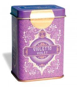 lattina retrochic con pastiglie violetta da 42g