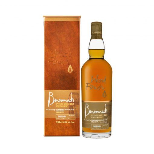 whisky single malt sassicaia wood finish benromach 1