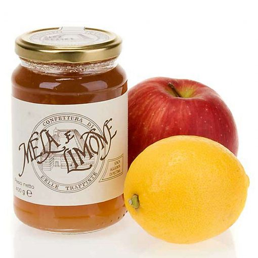 confettura mela limone 400 gr trappiste vitorchiano