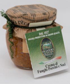 Crema di Funghi Porcini e Noci Frantoio di SantAgata di Oneglia