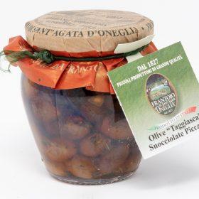Olive Taggiasca Snocciolate Piccanti Frantoio di SantAgata di Oneglia