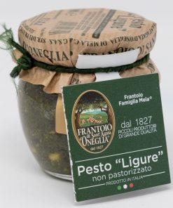 Pesto Ligure non pastorizzato Frantoio di SantAgata di Oneglia