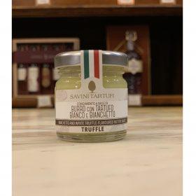 condimento a base di burro con tartufo bianco e bianchetto 30gr