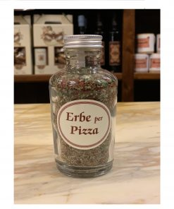 erbe per pizza dispensa toscana