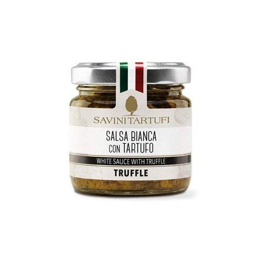 salsa bianca al tartufo 90 gr savini tartufi