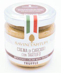 Cream di Carciofi con Tartufo Savini Tartufi 90gr