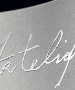 arte liquida bianco text