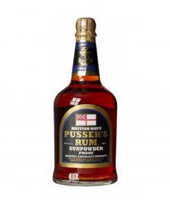 British navy pussers rum grunpowder proof