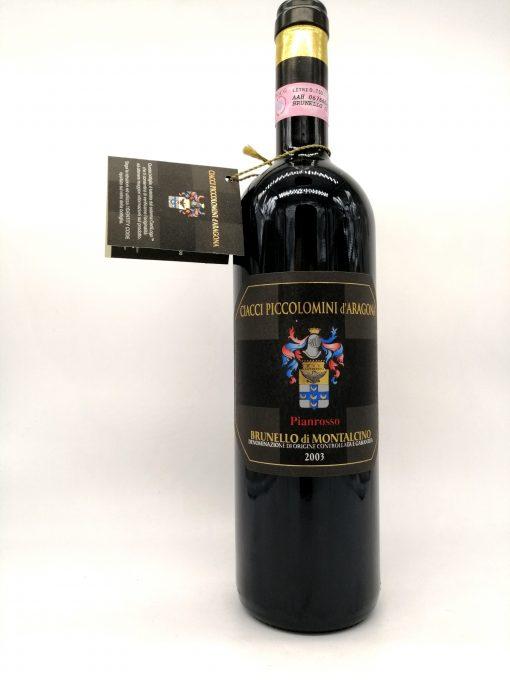 Brunello di Montalcino 2003 pianrosso ciacci piccolomini daragona 2