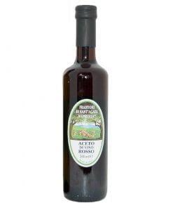 aceto di vino rosso frantoio santagata di oneglia 50 cl